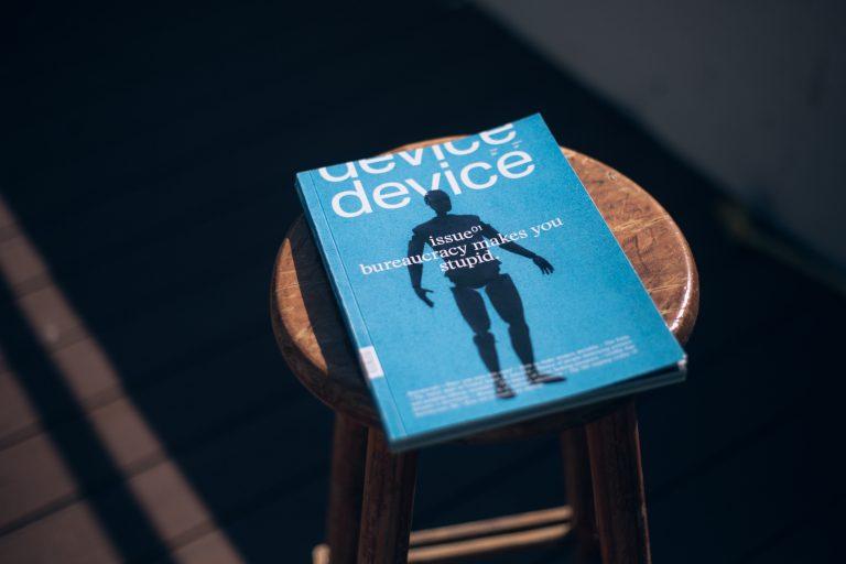 device magazine cover